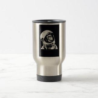 Astronaut Monkey Travel Mug