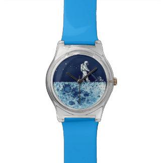 Astronaut on Moon Wristwatches