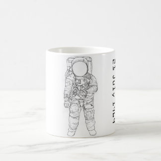 Astronaut on the Moon Coffee Mug