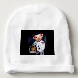 Astronaut pig - space astronaut baby beanie
