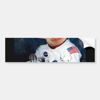 Astronaut pig - space astronaut bumper sticker