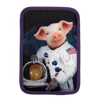 Astronaut pig - space astronaut iPad mini sleeve