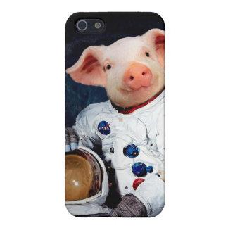 Astronaut pig - space astronaut iPhone 5/5S cases