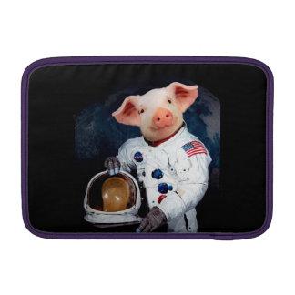 Astronaut pig - space astronaut MacBook sleeve
