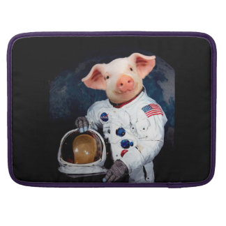 Astronaut pig - space astronaut sleeve for MacBooks