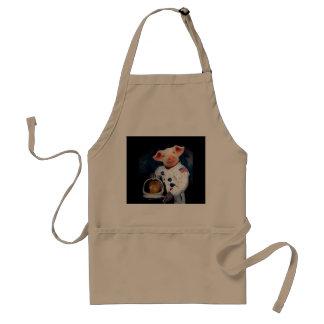 Astronaut pig - space astronaut standard apron
