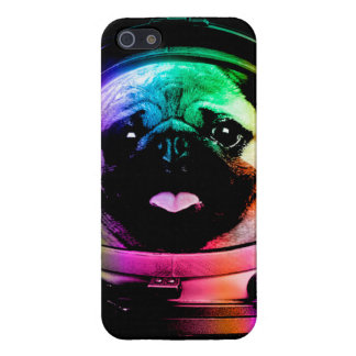Astronaut pug - galaxy pug - pug space - pug art case for the iPhone 5