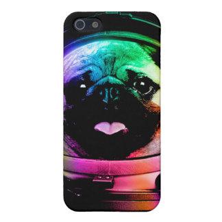 Astronaut pug - galaxy pug - pug space - pug art iPhone 5 cases