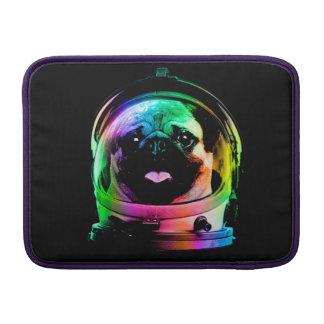 Astronaut pug - galaxy pug - pug space - pug art MacBook sleeve
