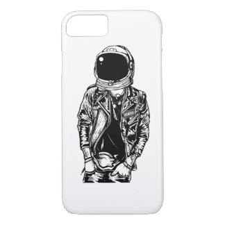 Astronaut Punkster Glossy Phone Case