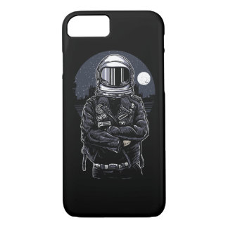 Astronaut Rebel Glossy Phone Case