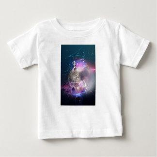 Astronaut Riding Super Nova Baby T-Shirt