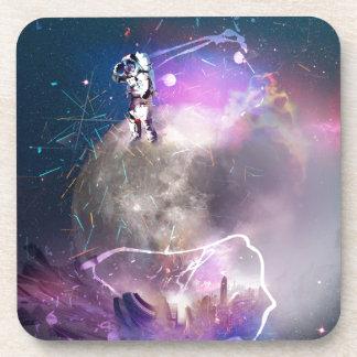 Astronaut Riding Super Nova Coaster