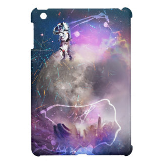 Astronaut Riding Super Nova iPad Mini Cover