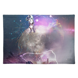 Astronaut Riding Super Nova Placemat