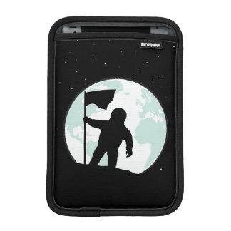 Astronaut Silhouette iPad Mini Sleeves