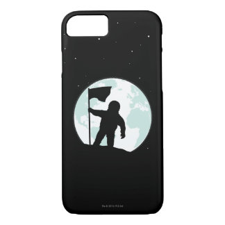 Astronaut Silhouette iPhone 8/7 Case