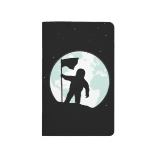 Astronaut Silhouette Journal