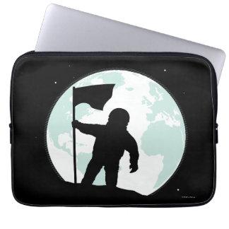 Astronaut Silhouette Laptop Sleeve