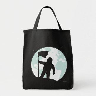Astronaut Silhouette Tote Bag