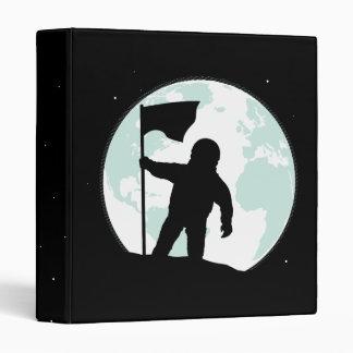 Astronaut Silhouette Vinyl Binder