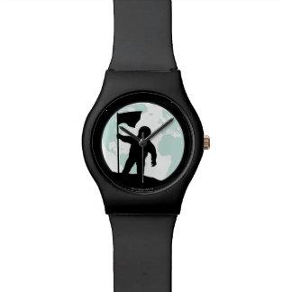 Astronaut Silhouette Wristwatches