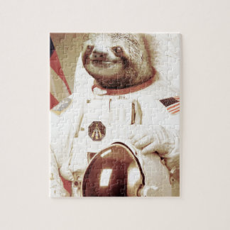 Astronaut Sloth Jigsaw Puzzle