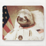 Astronaut Sloth Mousepad