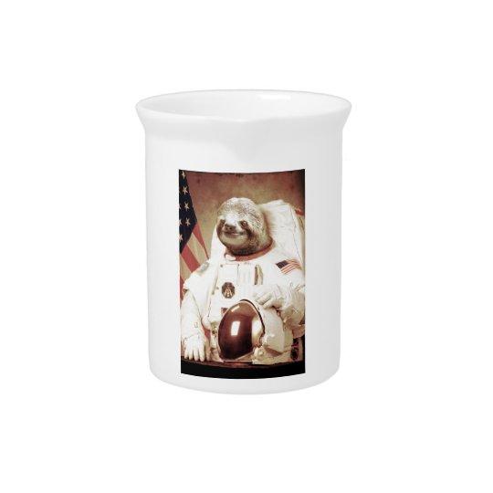 Astronaut Sloth Pitcher