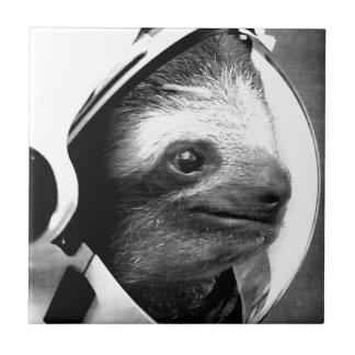 Astronaut Sloth Tile