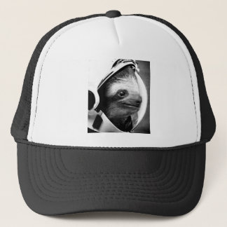 Astronaut Sloth Trucker Hat