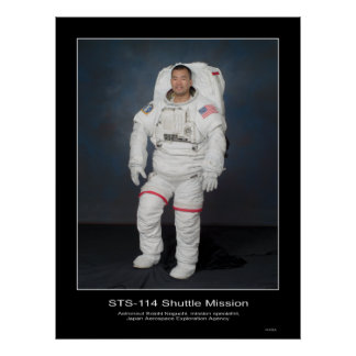 Astronaut Soichi Noguchi Japan Aerospace Poster