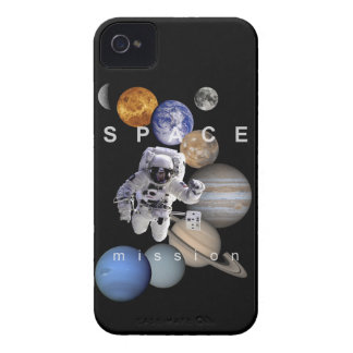 astronaut space mission solar system planets iPhone 4 Case-Mate case