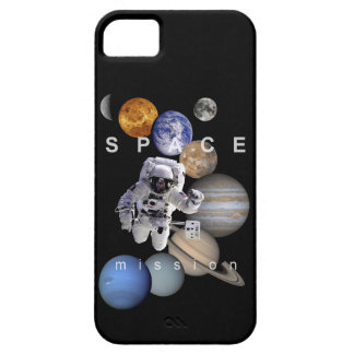 astronaut space mission solar system planets iPhone 5 cover