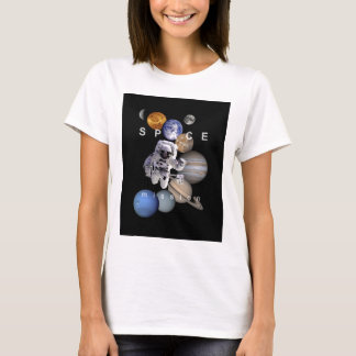 astronaut space mission solar system planets T-Shirt