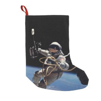 Astronaut Space Walk Small Christmas Stocking