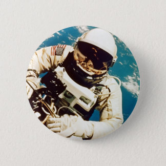 Astronaut Spacewalk 2 Inch Round Button