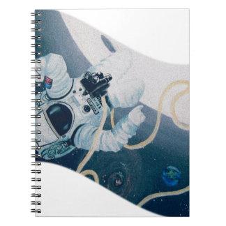 Astronaut Spiral Notebook