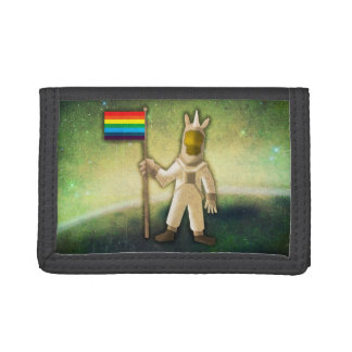 Astronaut Unicorn Tri-fold Wallet