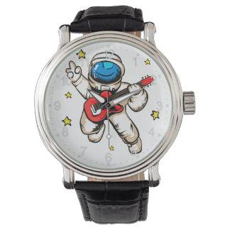Astronaut victory gesture watch