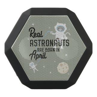 Astronauts are born in April Zg6v6 Black Bluetooth Speaker