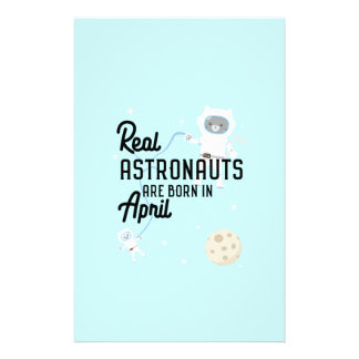 Astronauts are born in April Zg6v6 Flyer