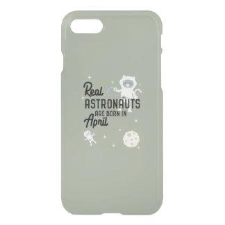 Astronauts are born in April Zg6v6 iPhone 8/7 Case