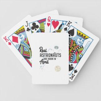 Astronauts are born in April Zg6v6 Poker Deck