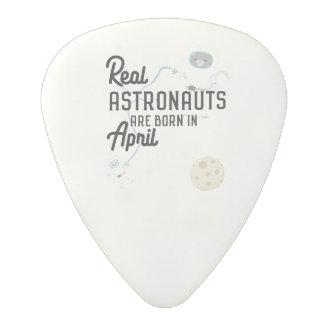 Astronauts are born in April Zg6v6 Polycarbonate Guitar Pick