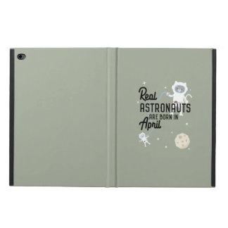Astronauts are born in April Zg6v6 Powis iPad Air 2 Case
