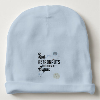 Astronauts are born in August Ztw1w Baby Beanie