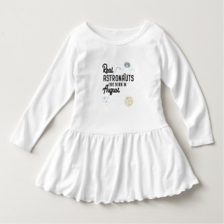 Astronauts are born in August Ztw1w Dress