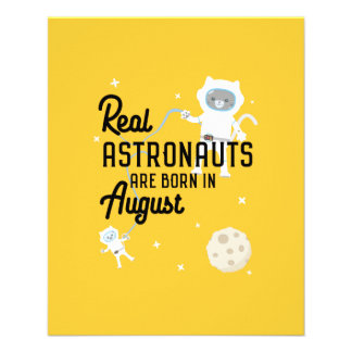 Astronauts are born in August Ztw1w Flyer