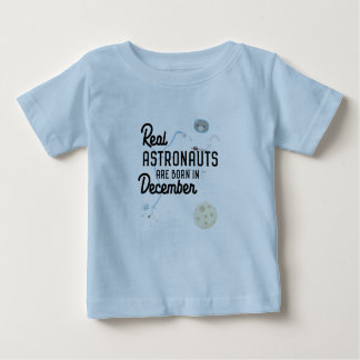 Astronauts are born in December Zcsl0 Baby T-Shirt